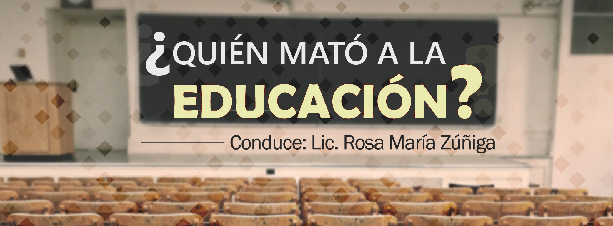 ¿Quién mató a la educación?